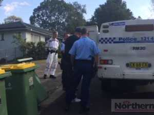 Drug raid in Goonellabah