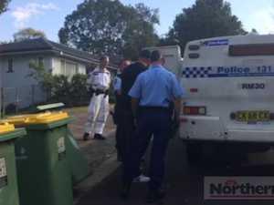 Drug raid in Goonellabah