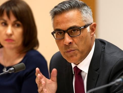 Ex-Australia Post boss Ahmed Fahour's final pay packet is more than $10 million. Picture: Kym Smith