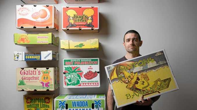 BOXING CLEVER: Artist Sean Rafferty.