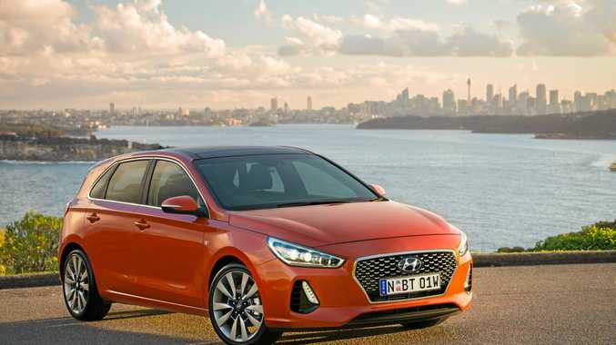 The 2017 model Hyundai i30 SR Premium.