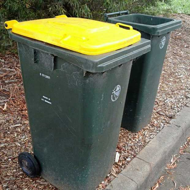 Nearly all the contents of the yellow bins are being recycled.