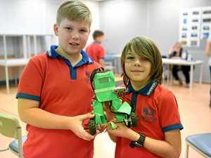 Go, go gadgets at robotic challenge