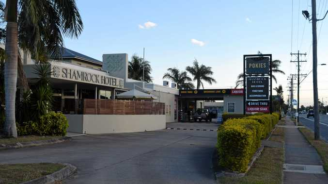 OWNER SWITCH: The Shamrock Hotel has been bought for $13.7 million as part of a $667 million takeover of Redcape Hotel group.