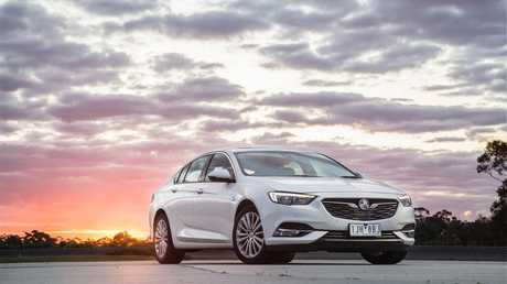 The 2018 Holden Commodore.