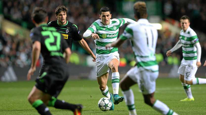 TOUGH ASSIGNMENT: Tom Rogic will face some tough opposition when his Celtic side gets to the business end of the Champions League.