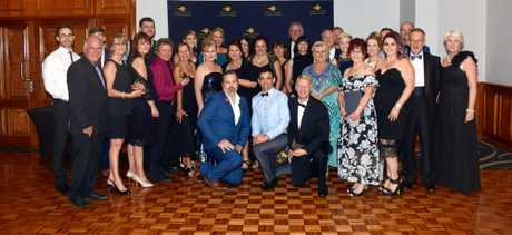 Capricornia Business Awards 2016 winners, sponsors and presenters.
