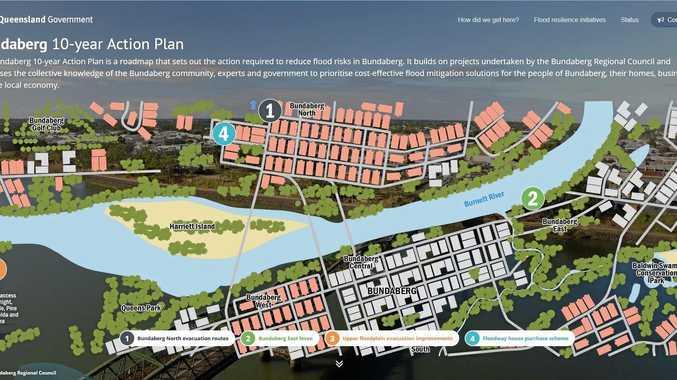 FLOOD MITIGATION: The Queensland Government's Bundaberg 10-Year Action Plan website.