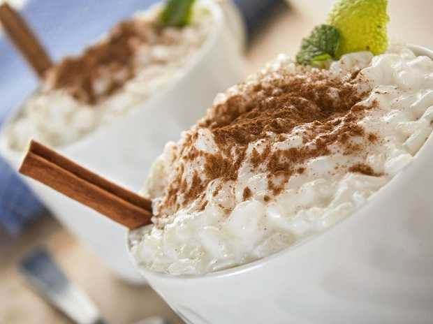 A creamy rice pudding is the perfect winter comfort food.