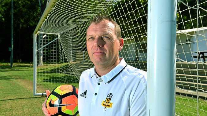 BIG ROLE: New Sunshine Coast Wanderers Football Club head coach Matt Chandler.