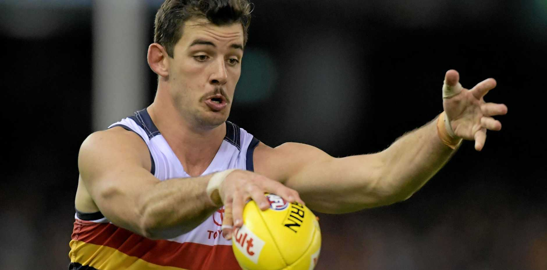 FOOT INJURY: Taylor Walker will miss the Crows' match with West Coast