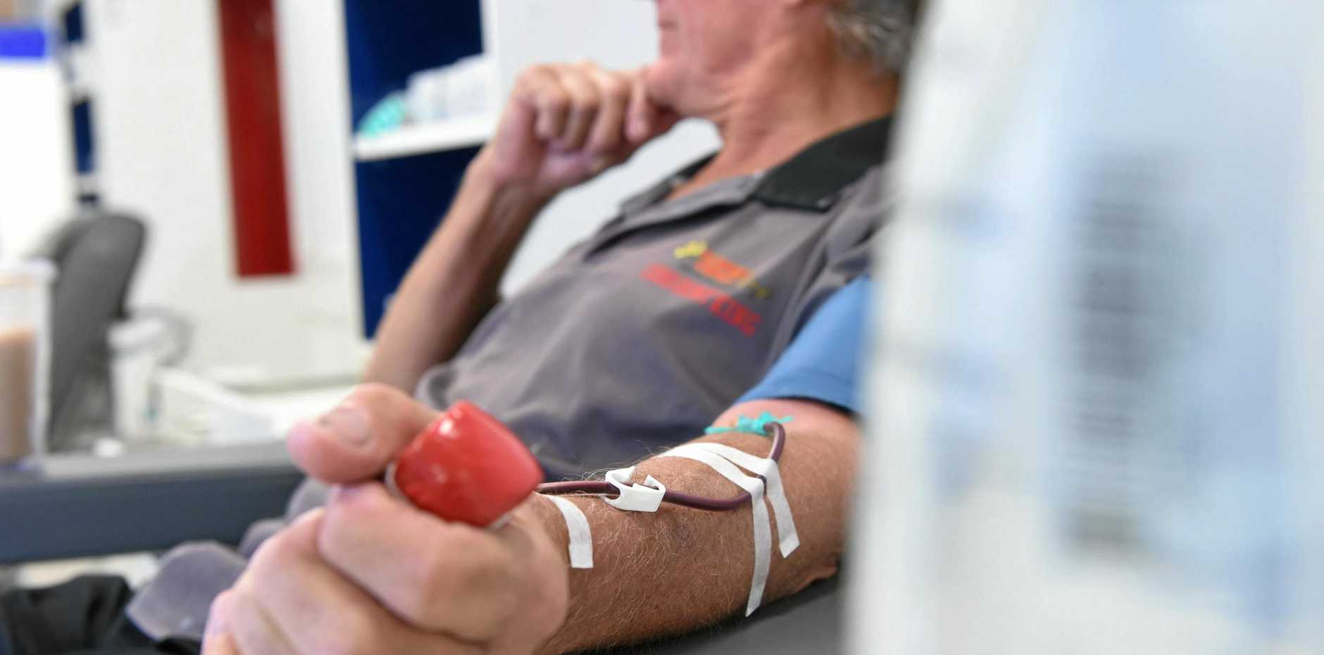The Australian Red Cross Blood Service needs you.