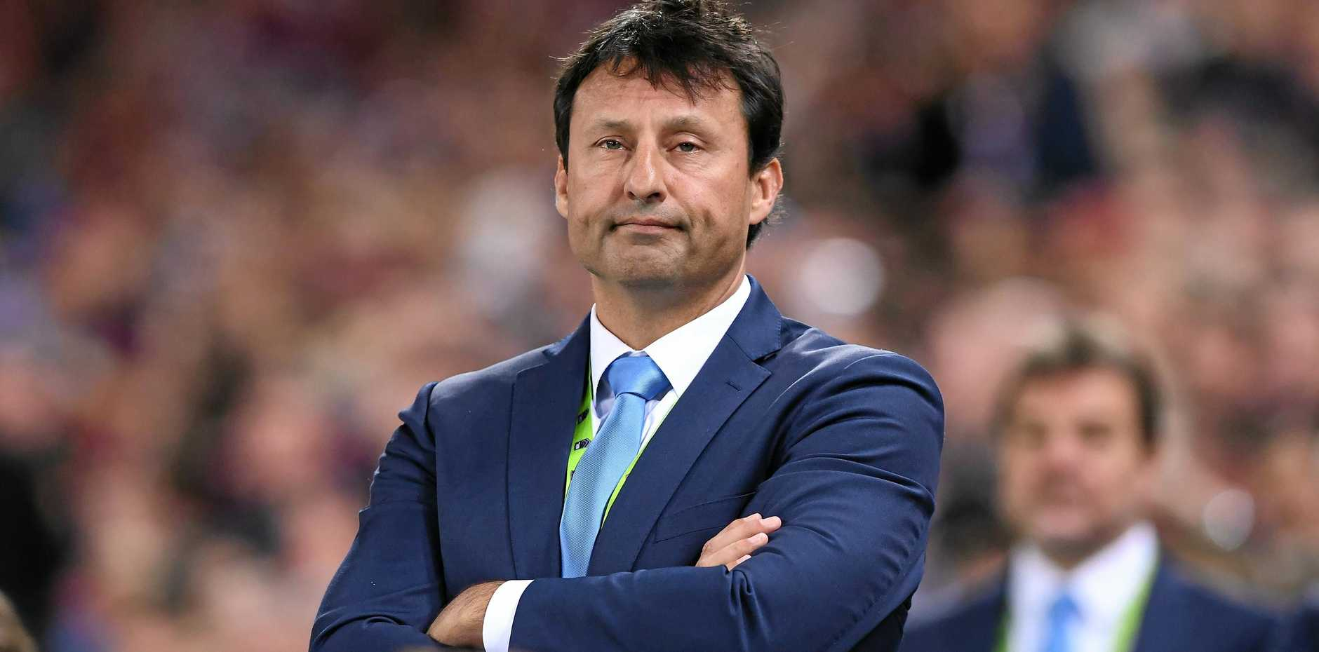 NSW coach Laurie Daley during State of Origin game three.