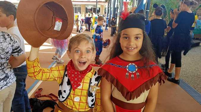 Woody and Pocahontas (Lucas Barber and Mackenzie Da Silva, St Joseph's Park Avenue)