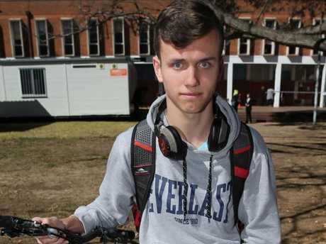 Politics student Max Claessens whose friend witnessed the assault.