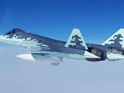 """The Russian media likes to call the new aircraft the """"Ghost"""" presumably because it is intended to be so stealthy it cannot be seen or detected."""