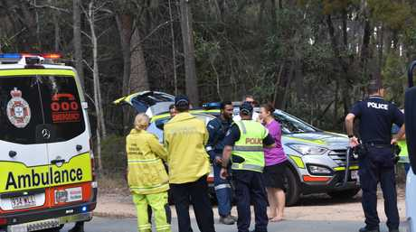 Emergency crews have gathered after a boy was hit by a car in Noosaville this afternoon.