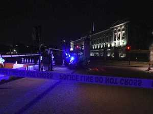 Officers injured after attack at Buckingham palace