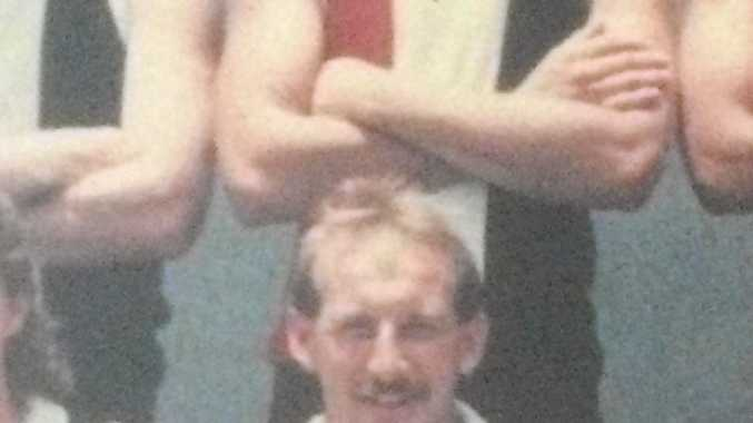 Former Brothers Bulldogs captain Alan Bedford back in 1987 when he won the AFL Wide Bay premiership