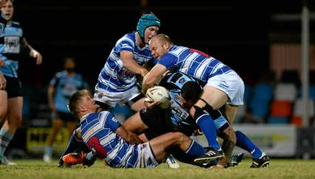Brothers player Mitch Zornig in the rugby league game against Norths at Browne Park on Saturday night.