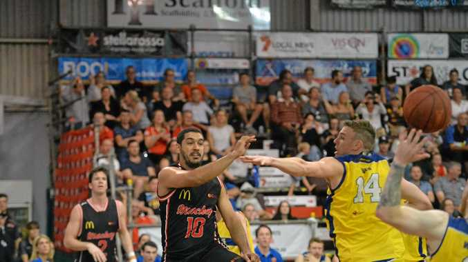 Mackay Meteors Chris Cedar will lead the team into game three on Sunday.