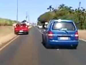 DASHCAM FOOTAGE: Who is at fault?