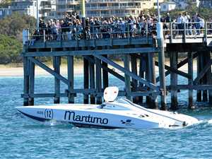 Full throttle superboats rev up a crowd in Coffs