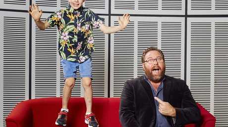 Shane Jacobson hosts the TV series Little Big Shots.