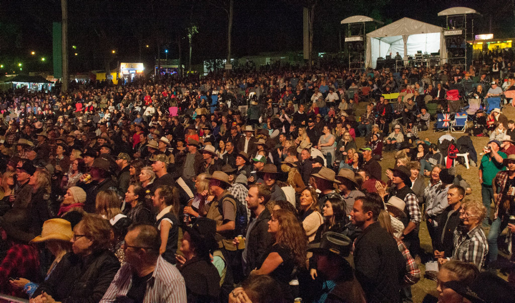 Generic crowd at the Muster Main Stage | Buy Photos Online