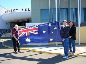 Wartime flag returns to Kingaroy