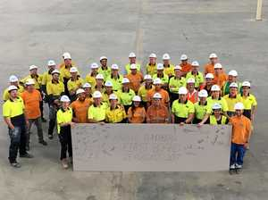 First boards roll out of new Knauf factory