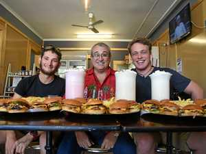 Monster challenge: CQ's biggest eaters gorge on 5kg mega meal