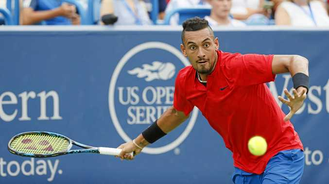 Nick Kyrgios is in good form ahead of the US Open.