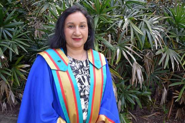 LEADING LADY: CQU PhD graduate Deepa Rijal.