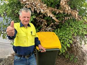 Wally ready to put bins out on street for good