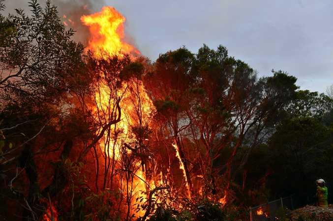 Bushfire season is coming to the Toowoomba region.