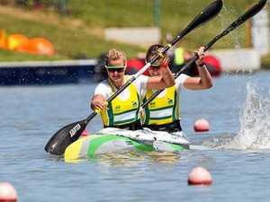 Burnett gets gold at world regatta