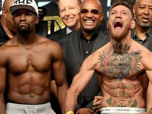 Floyd Mayweather vs Conor McGregor today in Las Vegas