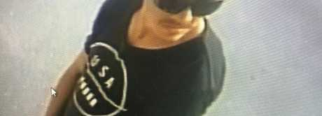 CCTV: One of the two men being sought by police for assistance with their enquiries.