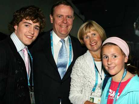 He is the son of former Australian treasurer, Peter Costello.