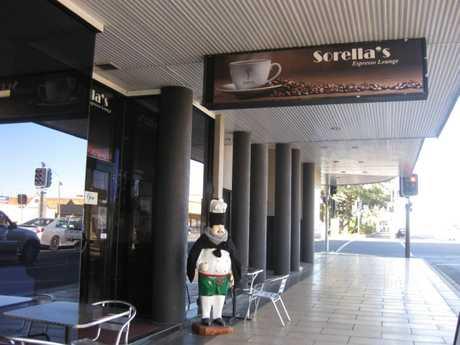 Sorella's Espresso Lounge on RUthven St.