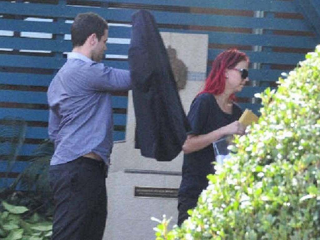 Hannah Quant leaving the Gladstone Magistrates Court in June 2015. Photo Tegan Annett / The Observer