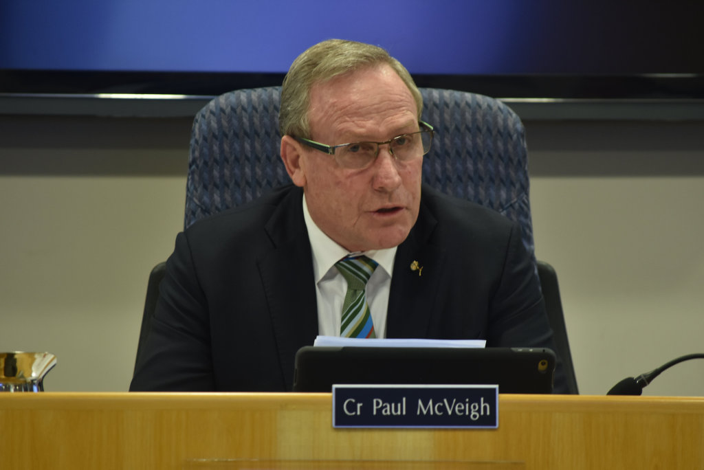 Western Downs Mayor Paul McVeigh.