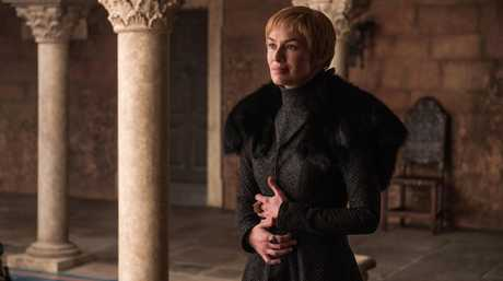 Lena Headey as Cersei Lannister in a scene from season 7 episode 7 of Game of Thrones.