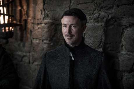 Aidan Gillen as Littlefinger in a scene from season 7 episode 7 of Game of Thrones.