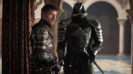 Nikolaj Coster-Waldau as Jaime Lannister in a scene from season 7 episode 7 of Game of Thrones.