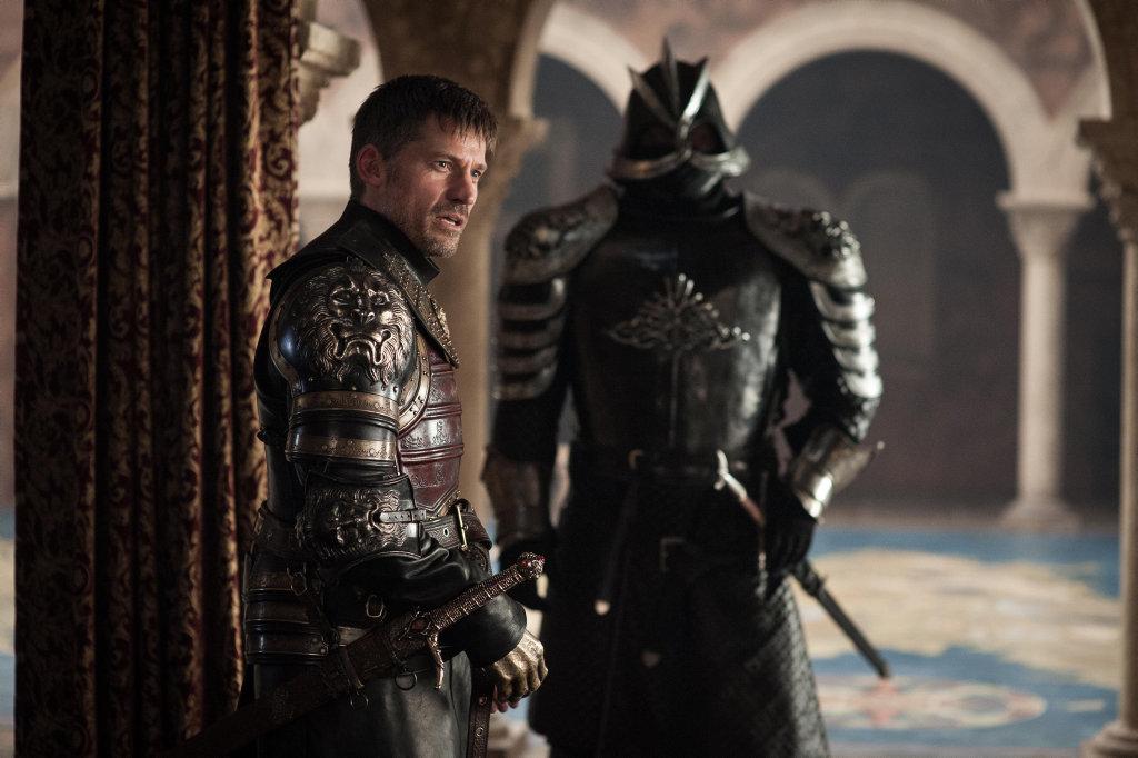 Nikolaj Coster-Waldau as Jaime Lannister in a scene from season 7 episode 7 of Game of Thrones.