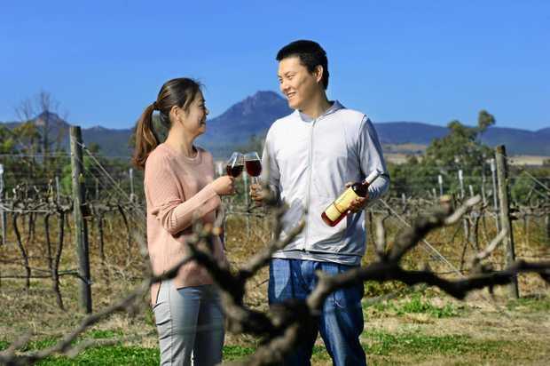Emma Chen and Yang Zhang are the new owners of Ironbark Ridge Vineyard in Purga.