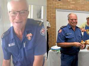 Lismore, Ballina paramedics retire after combined 85 years