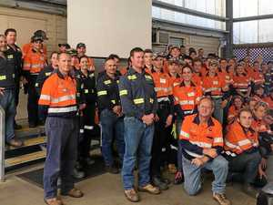 Students try a trade for a day at Hail Creek Mine